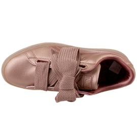 Buty Puma Basket Heart Copper W 365463-01 różowe 2