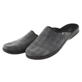 Befado obuwie męskie pu 548M002 szare 4