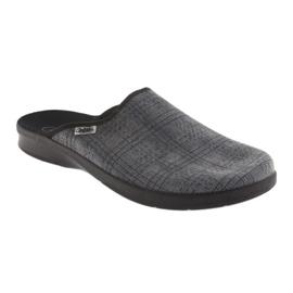 Befado obuwie męskie pu 548M002 szare 2