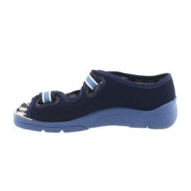 Befado obuwie dziecięce  969X101 granatowe niebieskie 4