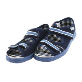Befado obuwie dziecięce  969X101 granatowe niebieskie 5