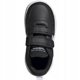 Buty adidas Tensaur I Jr EF1102 czarne 1