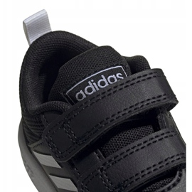 Buty adidas Tensaur I Jr EF1102 czarne 4