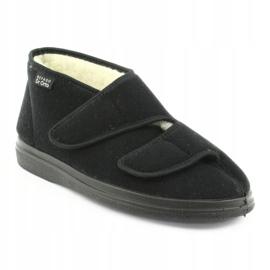 Befado obuwie damskie  pu 986D011 czarne 2