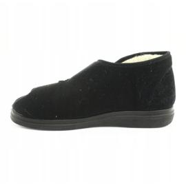 Befado obuwie damskie  pu 986D011 czarne 3