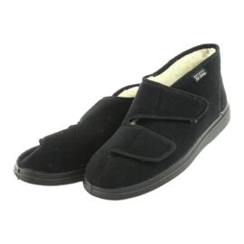 Befado obuwie damskie  pu 986D011 czarne 4