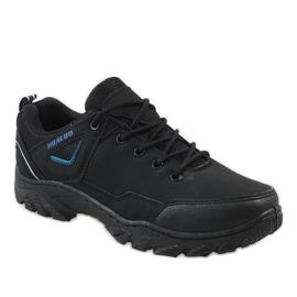 Czarne obuwie trekkingowe 128 1