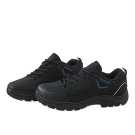 Czarne obuwie trekkingowe 128 3