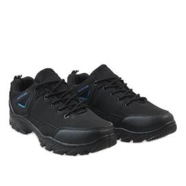 Czarne obuwie trekkingowe 128 4