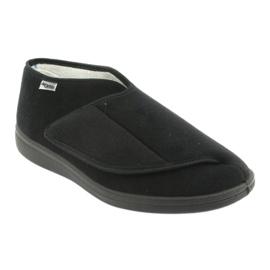 Befado obuwie damskie 071D001 czarne 2