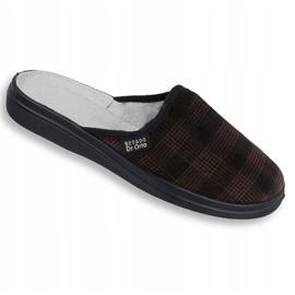 Befado obuwie męskie  pu 125M012 szare 1