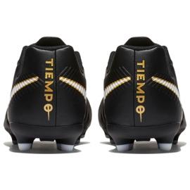 Buty piłkarskie Nike Tiempo Rio Iv Fg Jr 897731-002 czarne czarne 5