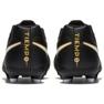 Buty piłkarskie Nike Tiempo Rio Iv Fg Jr 897731-002 czarne czarny 5