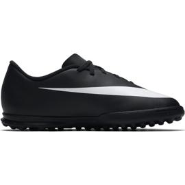Buty piłkarskie Nike Bravatax Ii Tf Jr 844440-001 czarne czarny 1