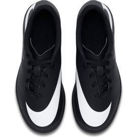 Buty piłkarskie Nike Bravatax Ii Tf Jr 844440-001 czarne czarny 3