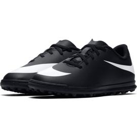 Buty piłkarskie Nike Bravatax Ii Tf Jr 844440-001 czarne czarny 4