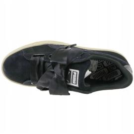 Buty Puma Basket Heart Metallic Safari W 364083-03 czarne 2