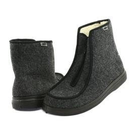 Befado obuwie męskie pu 996M004 szare 4