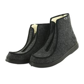 Befado obuwie męskie pu 996M004 szare 3
