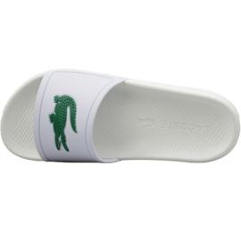 Klapki Lacoste Croco Slide 119 3 W 737CFA0005082 białe 2