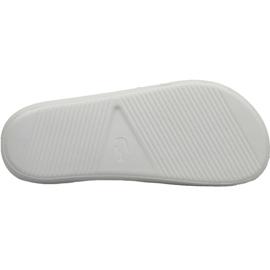 Klapki Lacoste Croco Slide 119 3 W 737CFA0005082 białe 3