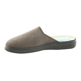Befado obuwie męskie  pu 125M009 szare 3