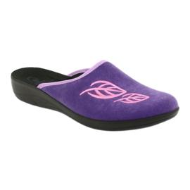 Befado obuwie damskie pu 552D001 fioletowe różowe 2