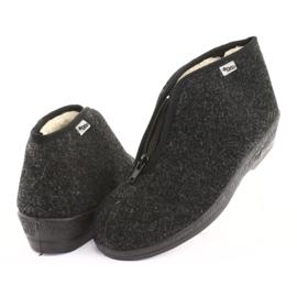 Befado obuwie damskie pu 041D052 szare 5