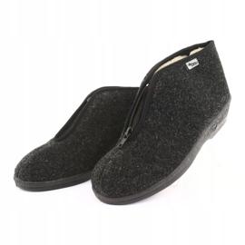 Befado obuwie damskie pu 041D052 szare 4