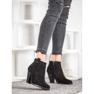Ideal Shoes Casualowe Czarne Botki 1