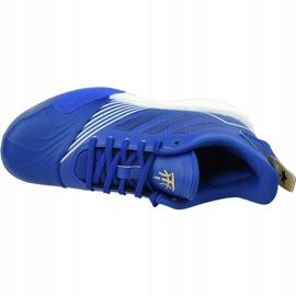 Buty koszykarskie adidas T-Mac Millennium M G27748 niebieskie wielokolorowe 2
