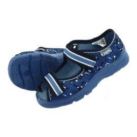 Befado obuwie dziecięce  969X141 granatowe niebieskie 6