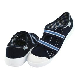 Befado obuwie dziecięce  672Y049 granatowe niebieskie 5
