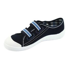 Befado obuwie dziecięce  672Y049 granatowe niebieskie 3