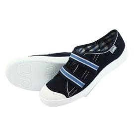 Befado obuwie dziecięce  672Y049 granatowe niebieskie 6
