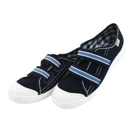 Befado obuwie dziecięce  672Y049 granatowe niebieskie 4