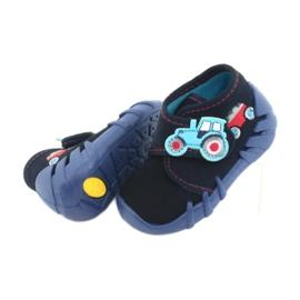 Befado obuwie dziecięce 523P009 granatowe 6