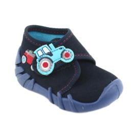 Befado obuwie dziecięce 523P009 granatowe 2
