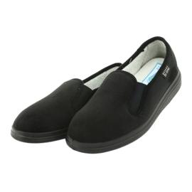 Befado obuwie damskie  pu 991D002 czarne 3