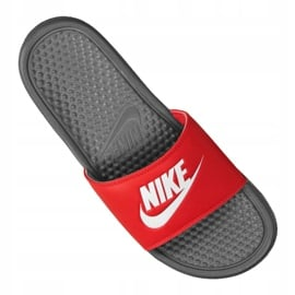 Klapki Nike Benassi Jdi Slide M 343880-028 czerwone 3