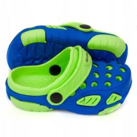 Klapki Aqua-Speed Lido Jr 40859-40863,42244 niebieskie zielone 1