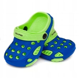 Klapki Aqua-Speed Lido Jr 40859-40863,42244 niebieskie zielone 2