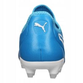 Buty piłkarskie Puma King Pro Fg M 105608-04 niebieskie niebieskie 1