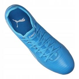 Buty piłkarskie Puma King Pro Fg M 105608-04 niebieskie niebieskie 3