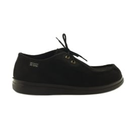 Befado obuwie damskie pu 871D004 czarne 2