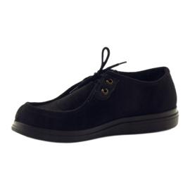 Befado obuwie damskie pu 871D004 czarne 4