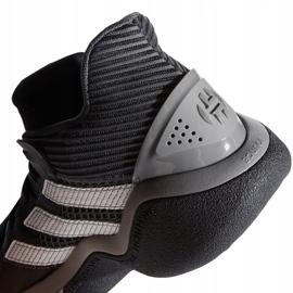 Buty koszykarskie adidas Harden Stepback M EF9893 czarne niebieskie 2
