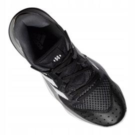 Buty koszykarskie adidas Harden Stepback M EF9893 czarne niebieskie 3