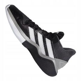 Buty koszykarskie adidas Harden Stepback M EF9893 czarne niebieskie 5