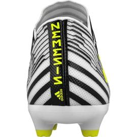 Buty piłkarskie adidas Nemeziz 17.3 Fg M S80599 wielokolorowe białe 2